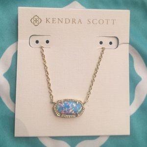 Kendra Scott Jewelry - Kendra Scott blue opal pendant necklace